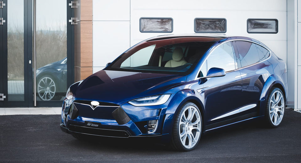 VIRIUM - Tesla Model X Tuning performance Bodykit by FAB DESIGN