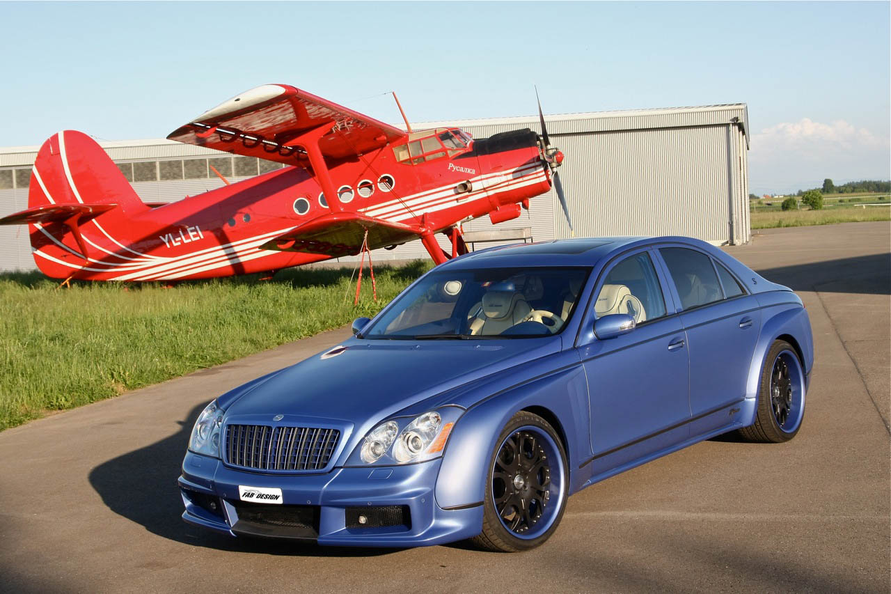 maybach bodykit