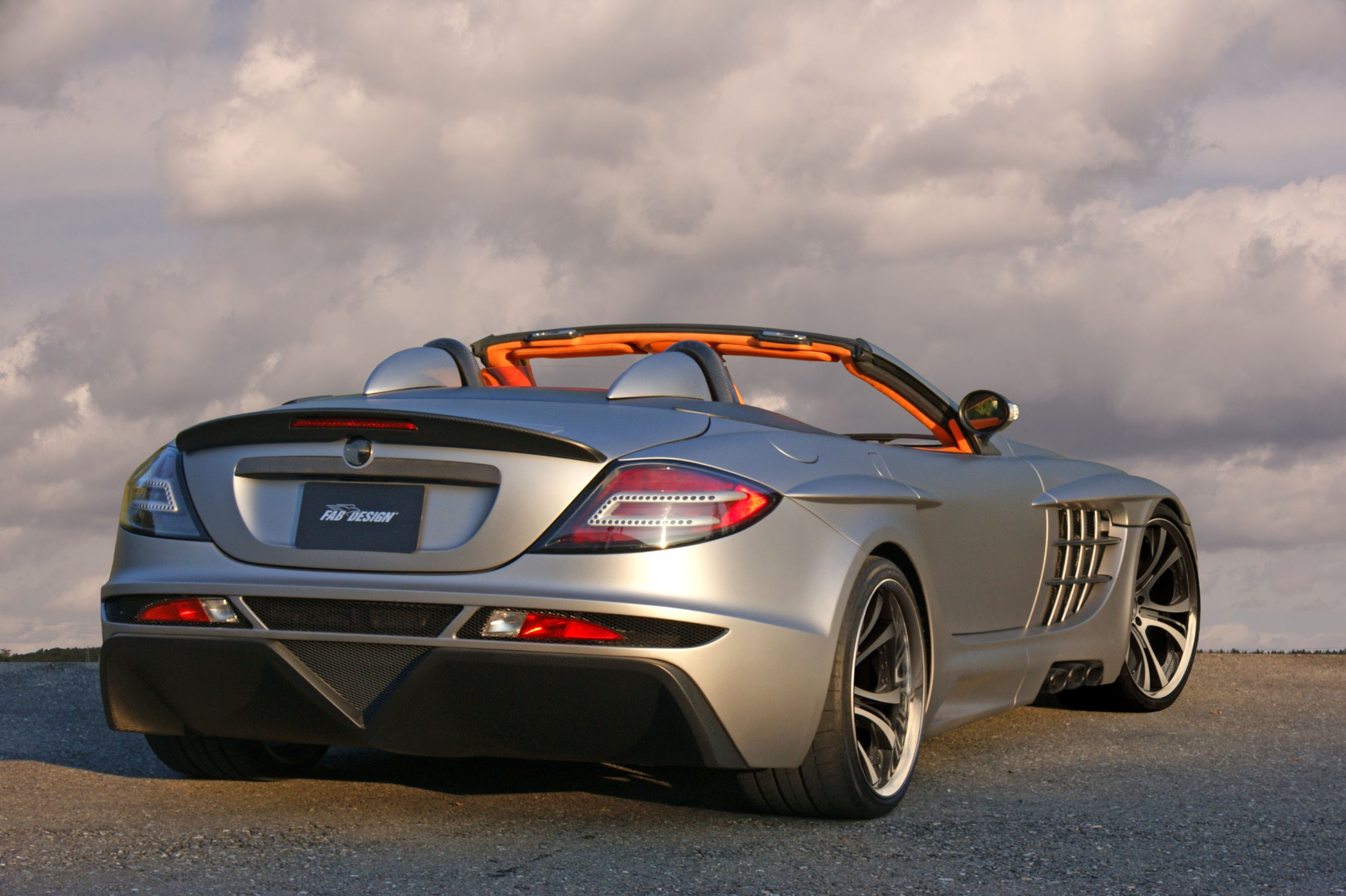 Mercedes Benz Rims >> Mercedes Benz SLR McLaren - FAB Design