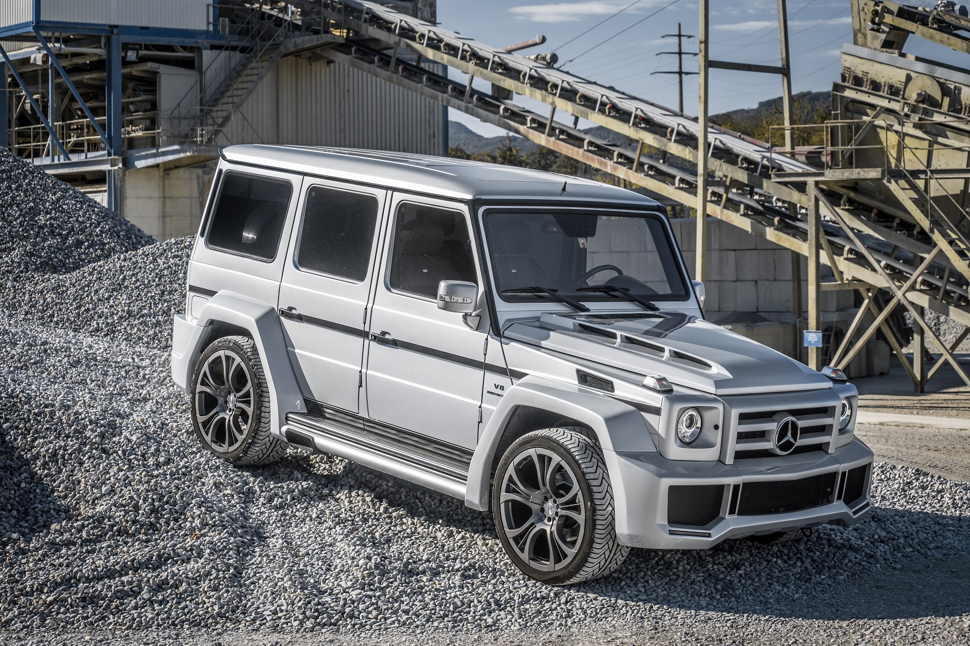 Mercedes Benz G Klasse Fab Design
